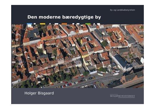 Den moderne bæredygtige by