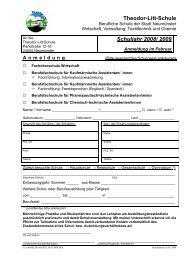 Berufsfachschule für Kaufmännische Assistenten/ -innen