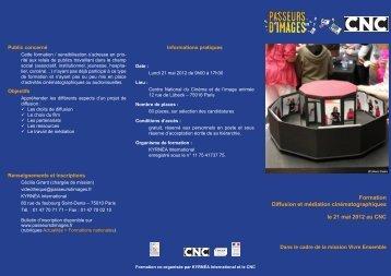Programme 2012 - Passeurs d'images