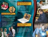What is Tech Prep? - College of Southern Idaho