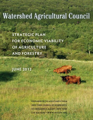 WAC Economic Viability Strategic Plan - Watershed Agricultural ...