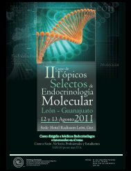 Molecular - Sociedad Mexicana de Nutricion y Endocrinologia