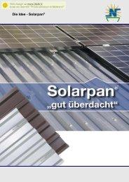 Die Idee - Solarpan -