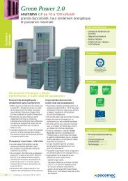 Documentation Green Power 2.0 Masterys - Socomec
