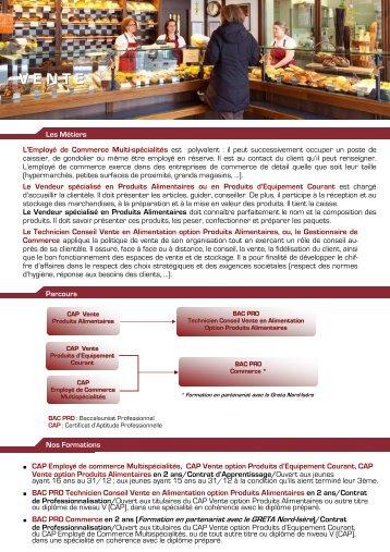 Sujets des bac pro des m tiers de l 39 alimentation session 2000 - Chambre du commerce et de l artisanat ...