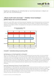Auswertung der Befragung (pdf-Datei) - ver.di b+b