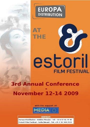 2009-11-12 - 3rd Annual Conference in Estoril - Europa Distribution