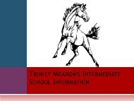 Trinity Meadows Intermediate School Information - Keller ISD Schools