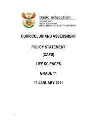 (caps) life sciences grade 11 19 january 2011