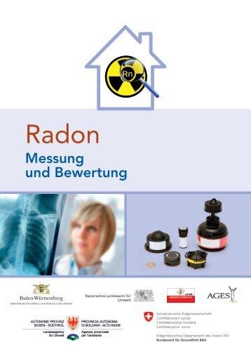 Radon - Messung und Bewertung (pdf) - AGES
