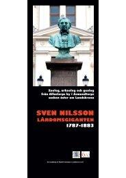 Utställning: Sven Nilsson - lärdomsgiganten