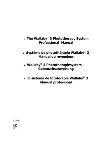 The Wallaby? 3 Phototherapy System