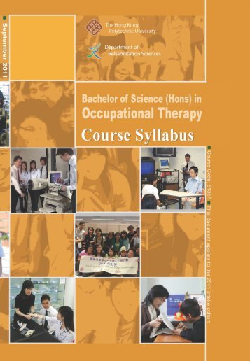Course Syllabus - Department of Rehabilitation Sciences - The ...