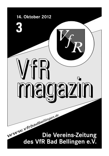 VfR Bad Bellingen - Uploadarea.de