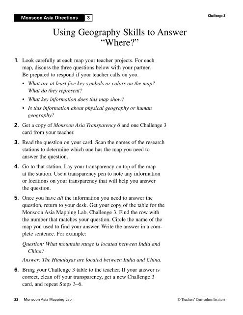 asia geography questions and answers