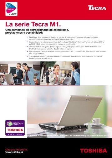 La serie Tecra M1. - Toshiba