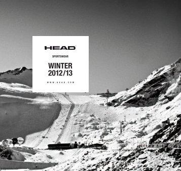 WINTER 2012/13 - Head