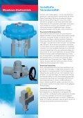 Membran-Stellantrieb - Arca-Regler GmbH - Seite 2