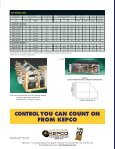 HSF/HSP Brochure - Kepco, Inc. - Page 6