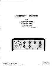 IG-1275 Lin-Log Sweep Generator Manual.pdf - Tubular Electronics