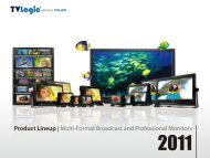 Product Lineup | Multi-Format Broadcast and Professional Monitors