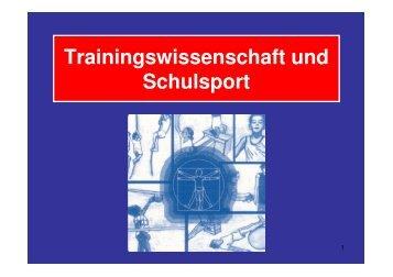 Trainingswissenschaften Hauptstudium - Sport-mainz.de