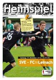SVE – FC Leinach - SV Erlenbach 1919 eV