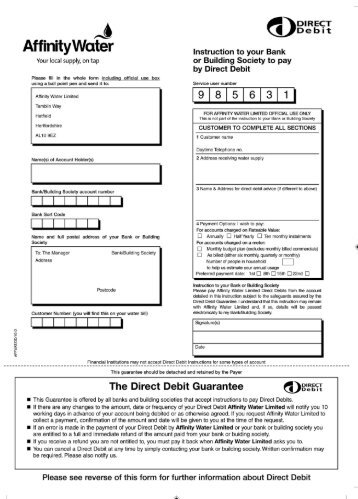 Direct Debit Authority Application Form Upper Hutt City Council