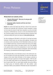 PI-11-22: Website relaunch - Wintershall AG