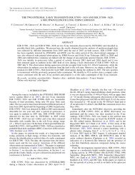 the two integral x-ray transients igr j17091−3624 ... - INAF-IASF-Roma