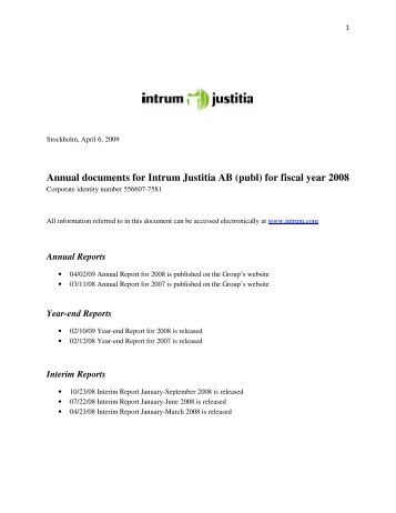 netent ab (publ) annual report