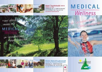 Medical Wellness - Klinik Hohenfreudenstadt