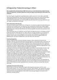 Download Nachbericht - Forum Study Nurses & Coordinators