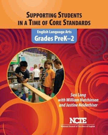 GradesPreK–2 - National Council of Teachers of English