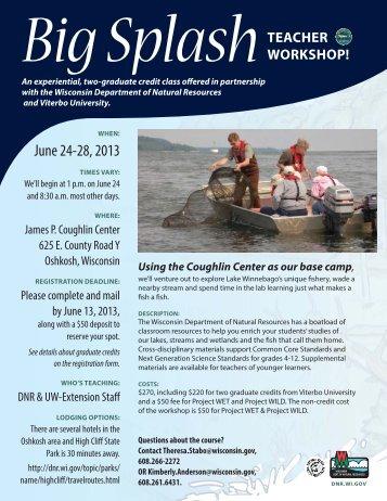 big splash flyer_DNR - Wisconsin Department of Natural Resources ...