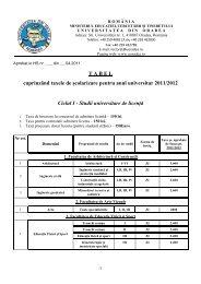 Studii universitare de licenţă
