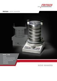 Vibratory Sieve Shaker ANALYSETTE 3 PRO - Laboratory Synergy ...
