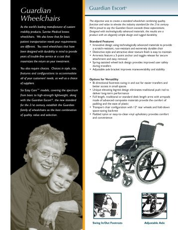 Guardian Wheelchairs - Quickie-Wheelchairs.com
