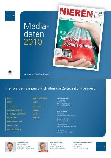 Media- daten 2010 - Kirchheim-Verlag