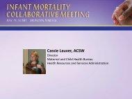 Cassie Lauver, ACSW - HRSA
