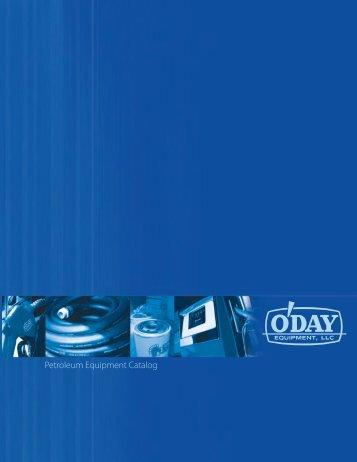 catalog mock-up.indd - O'Day Equipment