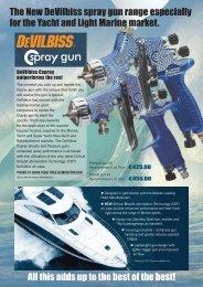 cspray uk euros - Binks Devilbiss Ransburg spray guns
