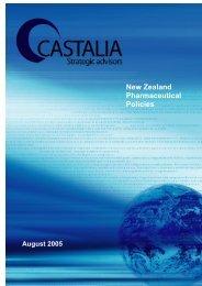 New Zealand Pharmaceutical Policies - Castalia