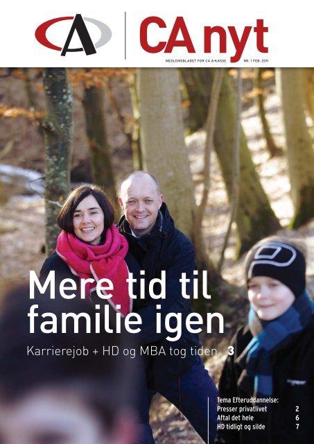 Karrierejob + HD og MBA tog tiden 3 - CA a-kasse