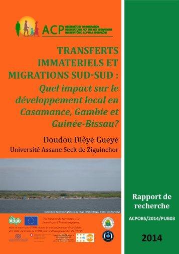 Sénégal local impact
