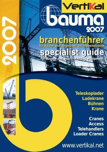 Vertikal Bauma 2007