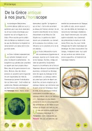 De la Grèce antique à nos jours, l'horoscope