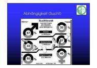 Abhängigkeit (Sucht) - Medizinische Universität Graz