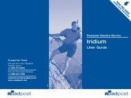 Iridium 9505A User Guide - Roadpost