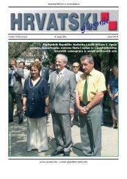 25. broj 19. lipnja 2008. - Croatica Kht.